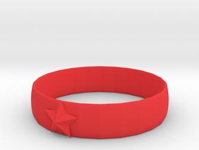Powerful in Red Processed Versatile Plastic