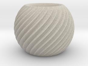 Orb Twist in Natural Sandstone