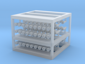 Torpedolampen mit Bohrung für LED in Smoothest Fine Detail Plastic