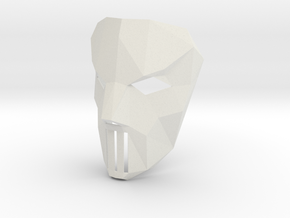 Case Jons Mask in White Natural Versatile Plastic