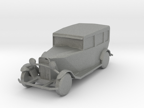 HO Scale Packard in Gray Professional Plastic