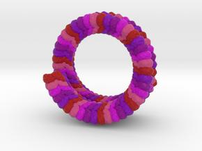 Ebola Virus in Natural Full Color Sandstone