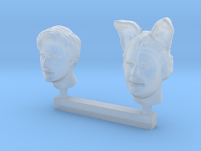 Faux Hero Duo in Smooth Fine Detail Plastic