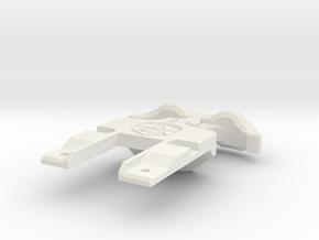 Kronos T Pull full logo in White Natural Versatile Plastic