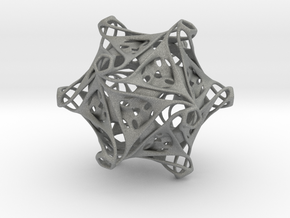 Icosahedron modified organic  in Gray PA12