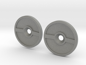 Spinner Caps (SD-PB) in Gray Professional Plastic