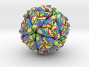 Panicum Mosaic Satellite Virus (Large) in Glossy Full Color Sandstone