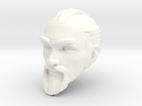 dwarf head 1 in White Processed Versatile Plastic