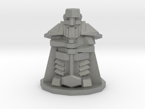 Heroic-Scale Low Poly Dwarf in Gray Professional Plastic