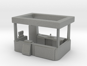 HO Scale Food Stand(2) in Gray PA12