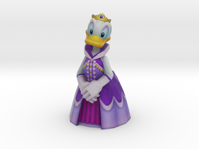 Daisy Duck - 57mm in Natural Full Color Sandstone