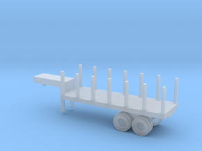 1/220 Scale M269 Semitrailer Low Bed in Smooth Fine Detail Plastic