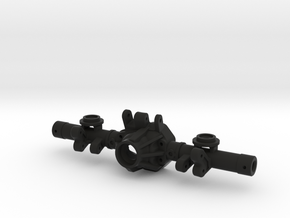 NC60 170mm Rear Linked for GCM CMAX in Black Natural Versatile Plastic