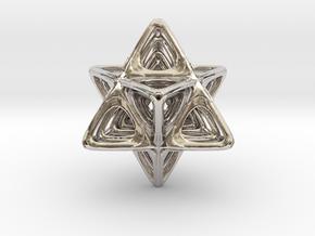 Sacred Merkaba nested in Platinum