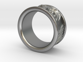 Franklin Ring in Natural Silver: 5 / 49