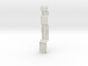 000468 Forstmaschinentransporter HO,1:87 in White Natural Versatile Plastic: 1:87 - HO
