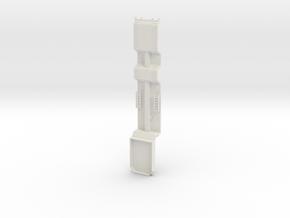 000149 Forst und Baumaschinentransporter HO 1:87 in White Natural Versatile Plastic: 1:87 - HO