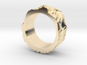 Franklin Ring original in 14k Gold Plated Brass: 5 / 49