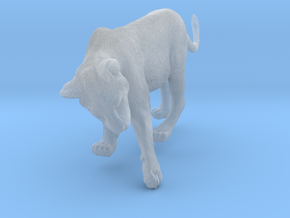 Lion 1:9 Cub reaching for something in Smooth Fine Detail Plastic