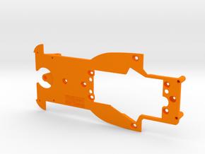 PSAV00301 Chassis for Avant Slot Porsche Spyder in Orange Processed Versatile Plastic