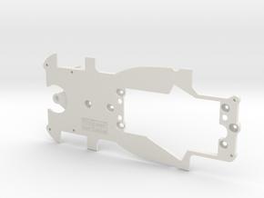 PSAV00201 Chassis for Avant Slot Pescarolo LMP in White Natural Versatile Plastic