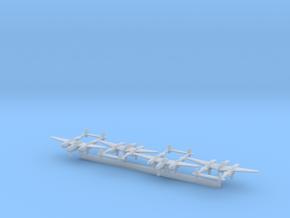 P-38L w/Gear x4 (FUD) in Smooth Fine Detail Plastic: 1:500