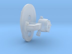 SBC 1/12 front cover and water pump in Smooth Fine Detail Plastic
