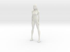 Printle V Femme 1075 - 1/24 - wob in White Natural Versatile Plastic