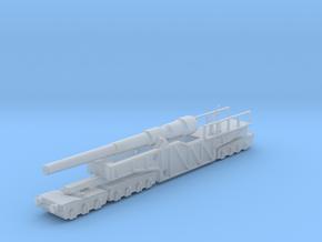 12 inch gun mk 9 railway artillery  1/160 in Smooth Fine Detail Plastic