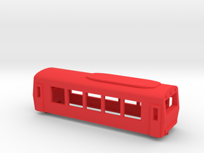 OBB Class 5090 Railcar in Red Processed Versatile Plastic