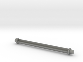 Transfer Fortress Missile with 5mm peg in Gray Professional Plastic