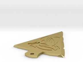 Arrowhead in Natural Brass
