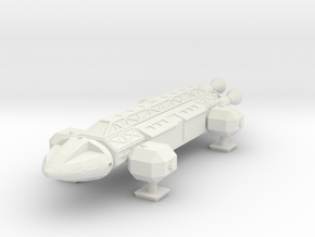 SF01A Space Transport (1/200) in White Natural Versatile Plastic