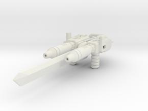 POTP Battletrap Weapon Accessories in White Premium Versatile Plastic