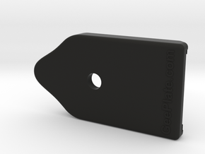 G19/17 GeePlate in Black Natural Versatile Plastic
