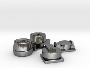 Fittings Wellcraft SC38 in Polished Silver: 1:10