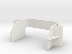 tamiya super astute rear battery holder in White Natural Versatile Plastic