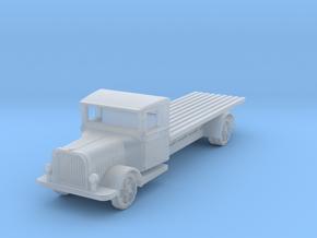 Saurer polish 1939 tank transporter 1:200 in Smooth Fine Detail Plastic