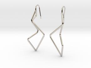 A-LINE Enmotion, Earrings in Platinum