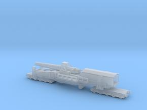 28 cm SKL / 40 (E) Railway artillery Bruno 1/160  in Smooth Fine Detail Plastic