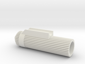 Vanquish Ripper Shock Reservoirs in White Natural Versatile Plastic