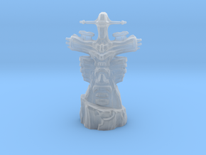 Dota2 Dire Tower in Smooth Fine Detail Plastic