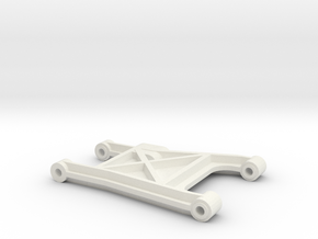 tamiya madcap rear suspension arm in White Natural Versatile Plastic