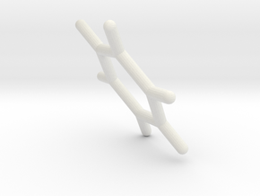 #27 D6h benzene in White Natural Versatile Plastic