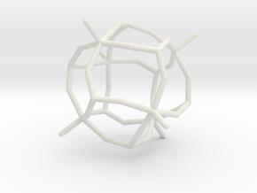 #30 O[V6P8O30] core in White Natural Versatile Plastic