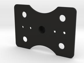 Top Plate Mica M in Black Natural Versatile Plastic
