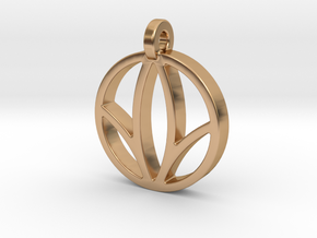 Herbalife Nutrition Pendant_V_2 in Polished Bronze