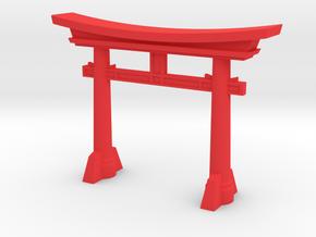 Torii in Red Processed Versatile Plastic