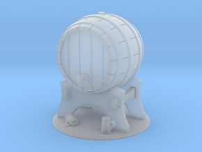 Objective: Brewer's Keg in Smooth Fine Detail Plastic