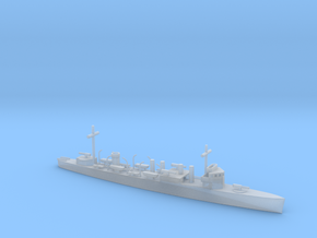 1/700 Scale Wickes Class Destroyer in Smooth Fine Detail Plastic